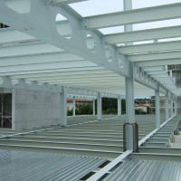 Solaio struttura acciaio