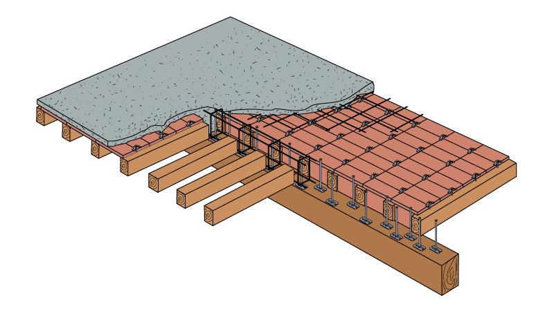Solai legno rinforzo e ristrutturazione solai for Solaio a sbalzo dwg
