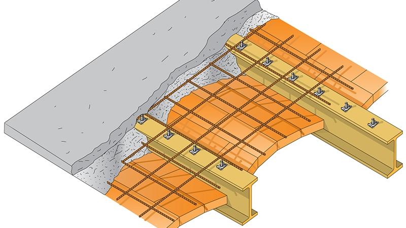 Tipologie dei solai in acciaio tecnaria - Apertura solaio per scala interna ...