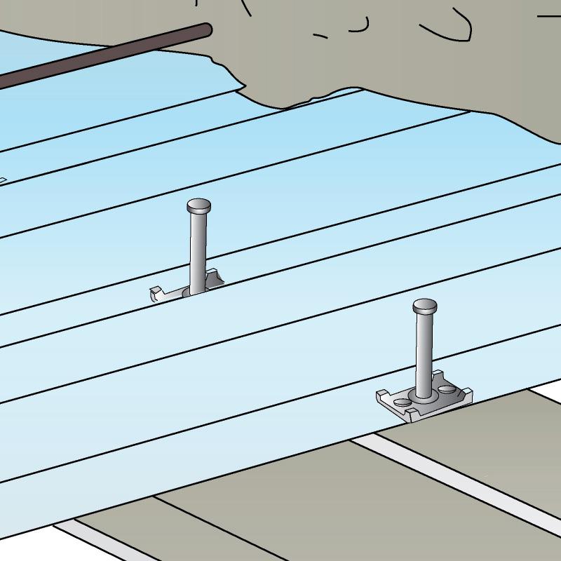 Tipos de forjados de acero - Refuerzo forjados y conectores para ...