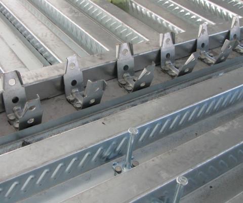 Connettori per solai in acciaio CTF e Diapson