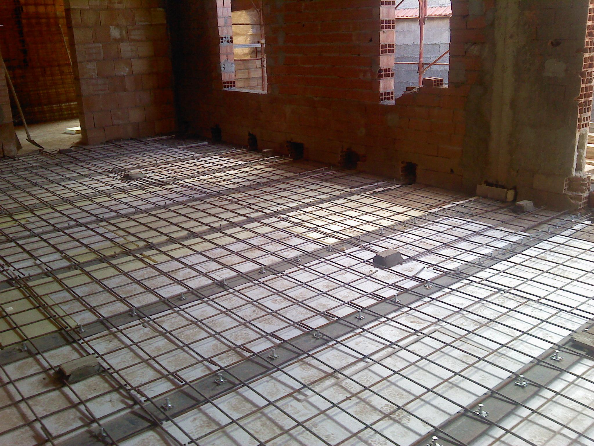 Ripristino Solaio Latero Cemento riabilitazione solaio con travi in acciaio. abitazione