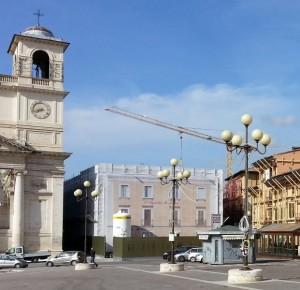 rinforzo solaio in acciaio in zona sismica l'Aquila - Tecnaria