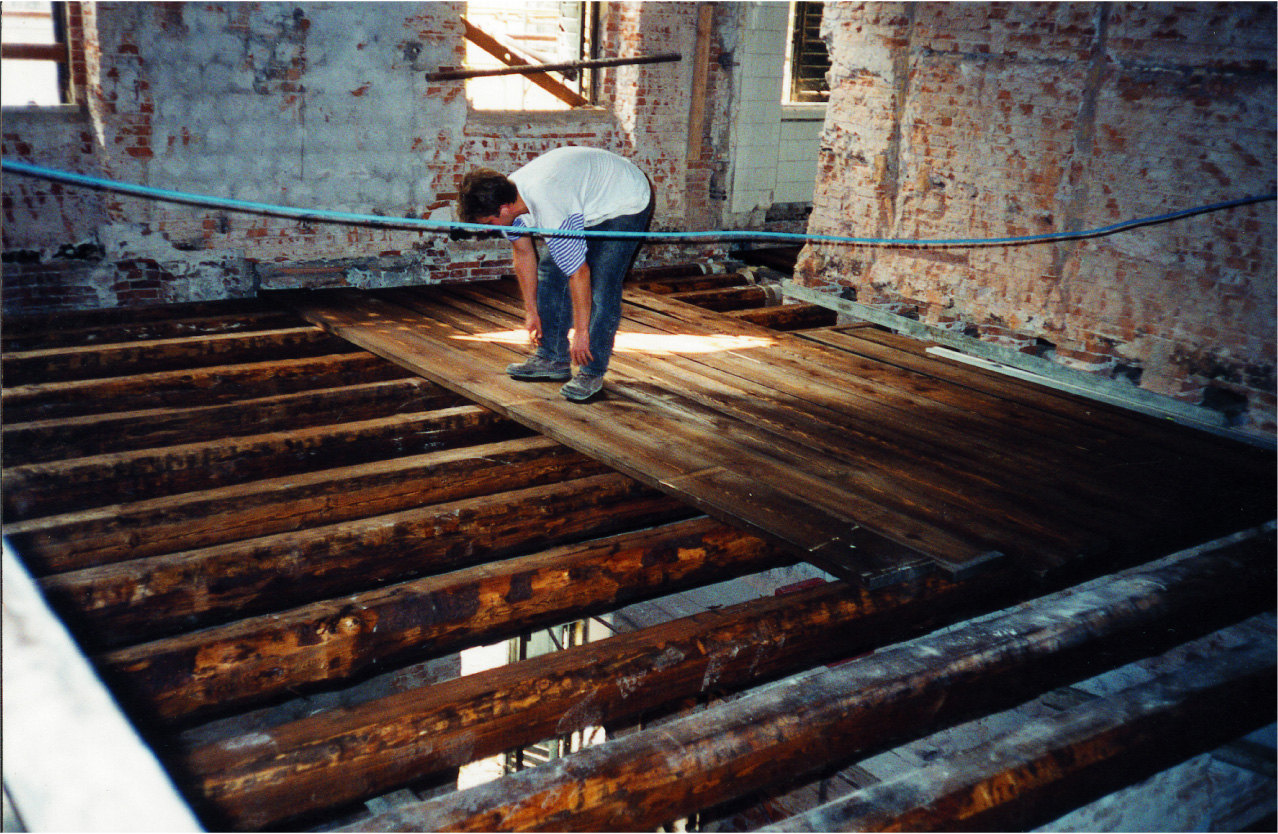 Sostituzione Travi In Legno Solai ristrutturazione di solai in legno - villa imperiale (pd)