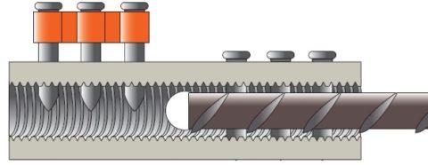 primo sguardo reputazione affidabile stile distintivo Manicotto GTS - Rinforzo solai e connettori per acciaio ...
